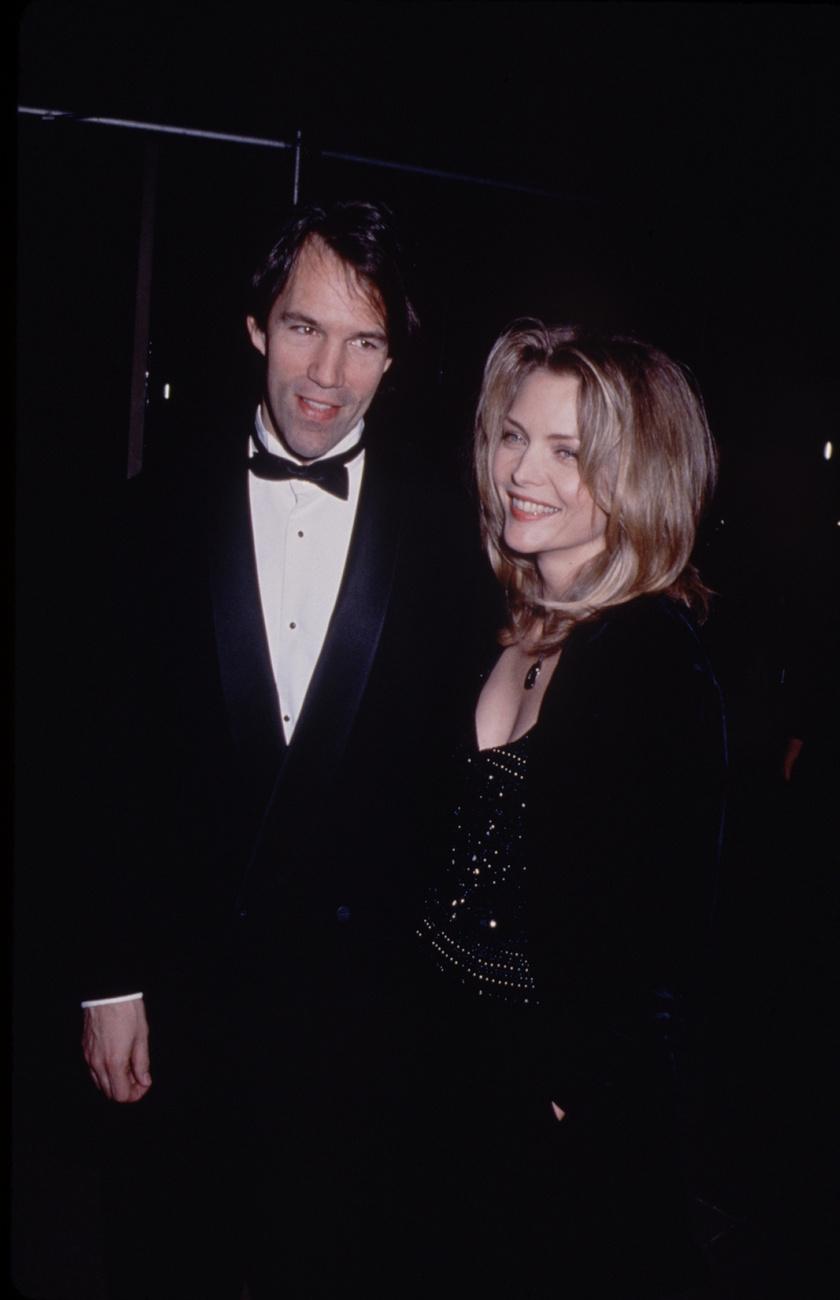Michelle Pfeiffer és férje 1993-ban.