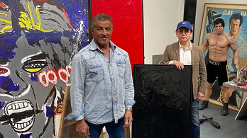 Sylvester Stallone festményeiből nyílik kiállítás New Yorkban