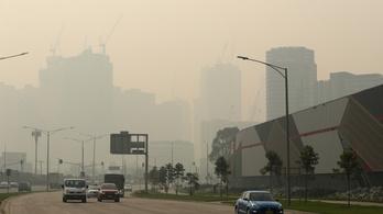 A bozóttüzek miatt pocsék a levegő, elhalasztották az AusOpen meccseit