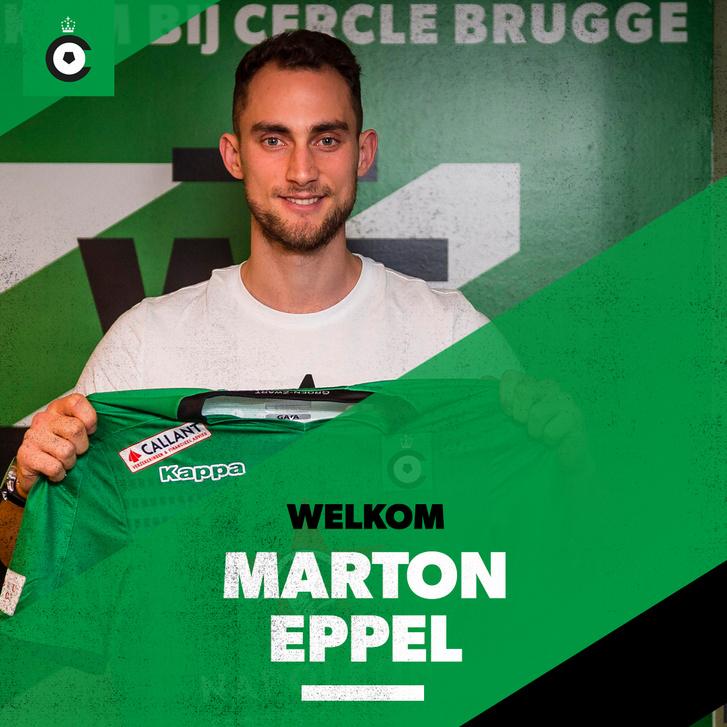 Eppel Márton a Cercle Brugge futballcsapatához szerződött