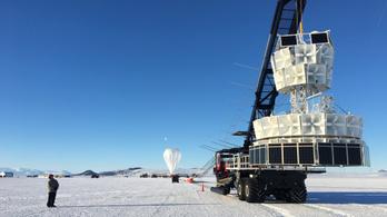 Rejtélyes részecskét találtak az Antarktiszon