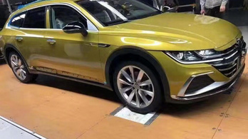 Terep-kombi készül a VW Arteon alapjaira
