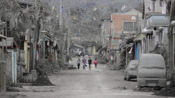 Két halálos áldozata van a Fülöp-szigeteki vulkánkitörésnek