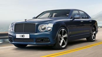Búcsúzik a Bentley csúcsmodellje