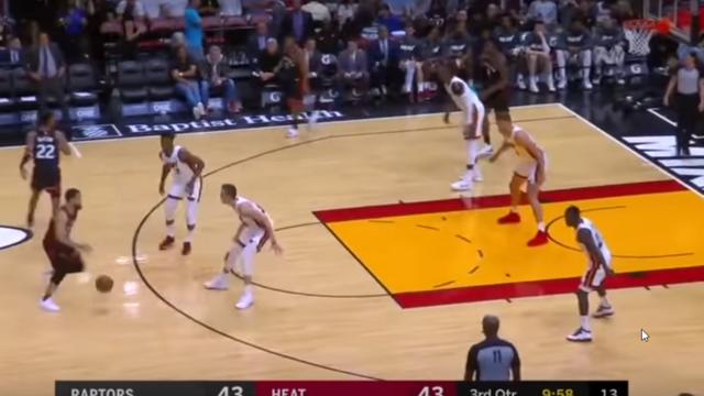 A Miami Heat 2-3-as zóna védekezése