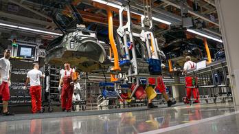 Rekordsok Audi készült tavaly Győrben