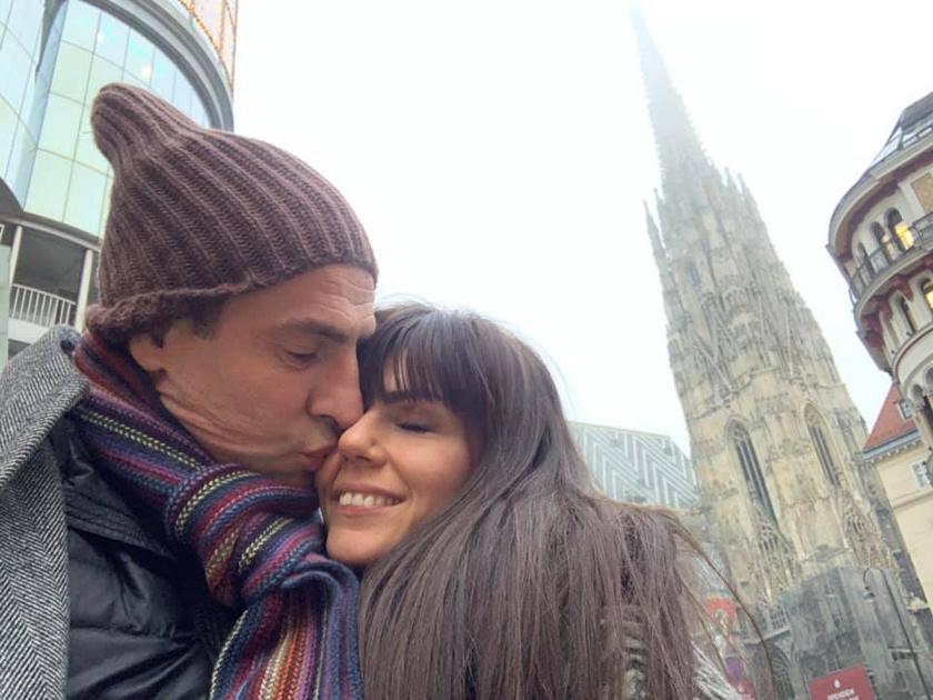 Pindroch Csaba és Verebes Linda Bécsben ünnepelték a 20. évfordulójukat.