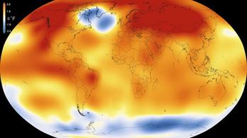 NASA: Ez volt Földünk legmelegebb évtizede
