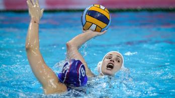 Óriási meccsen, egy góllal nyertek az oroszok ellen a magyar női pólósok