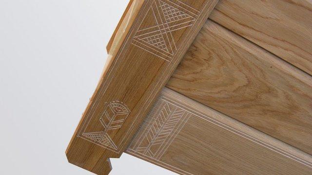 Ácsolt bútor a huszonegyedik században