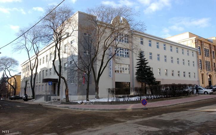 A XI. kerületi rendőrkapitányság épülete.