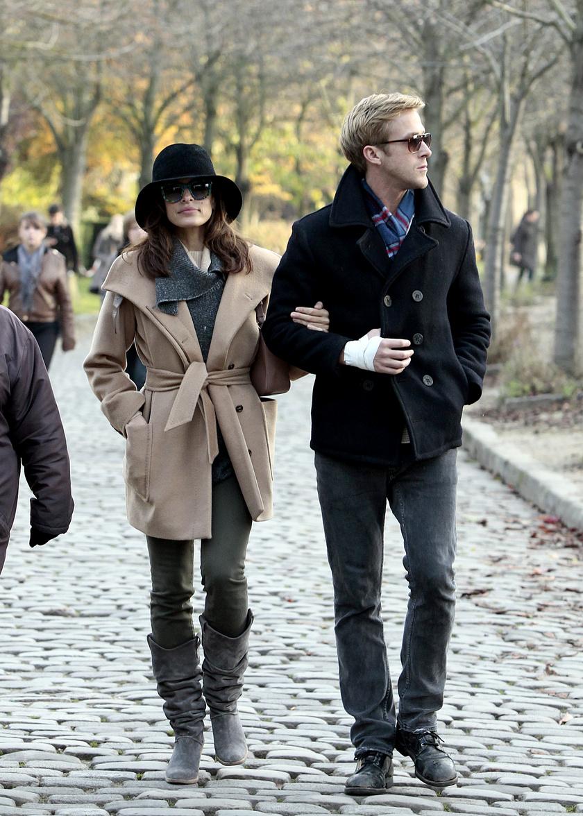 Eva Mendes és Ryan Gosling két kislányt nevelnek együtt.