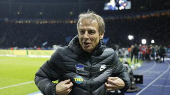 Klinsmann papírok nélkül edzi a Herthát?