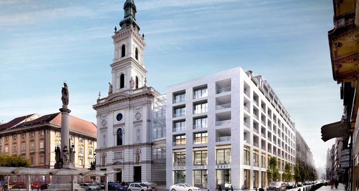 Gyakorlatilag már elkészült a Szervita téri fejlesztés