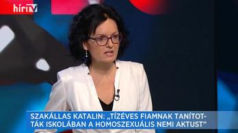 Kanadai óvodások nemváltó hormonkezeléséről beszélt egy magyar nő a Hír TV-ben