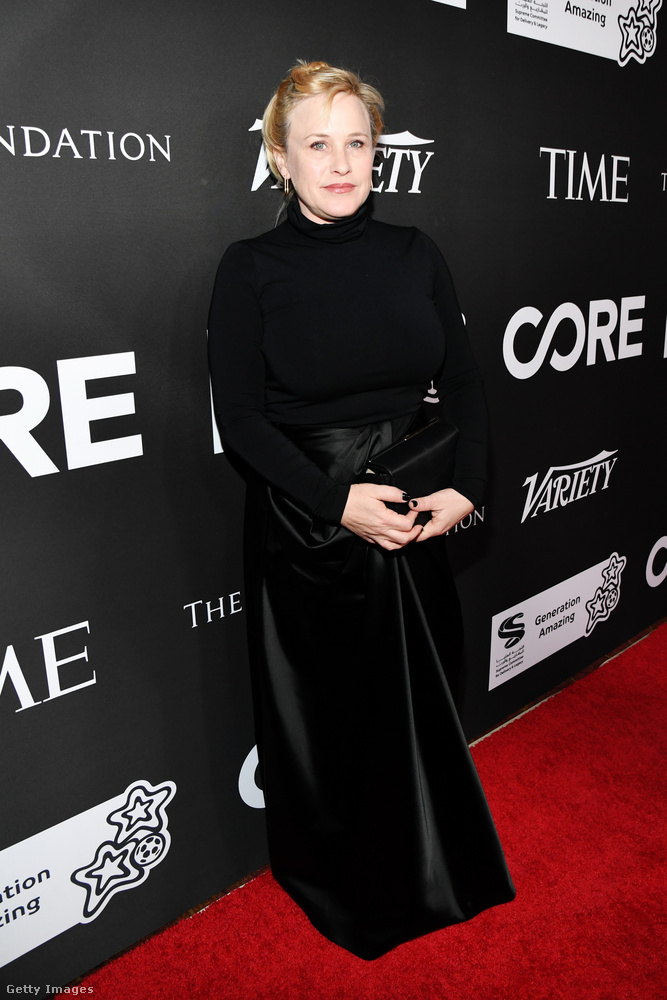 Patricia Arquette Oscar-díjas színésznő is ott volt...