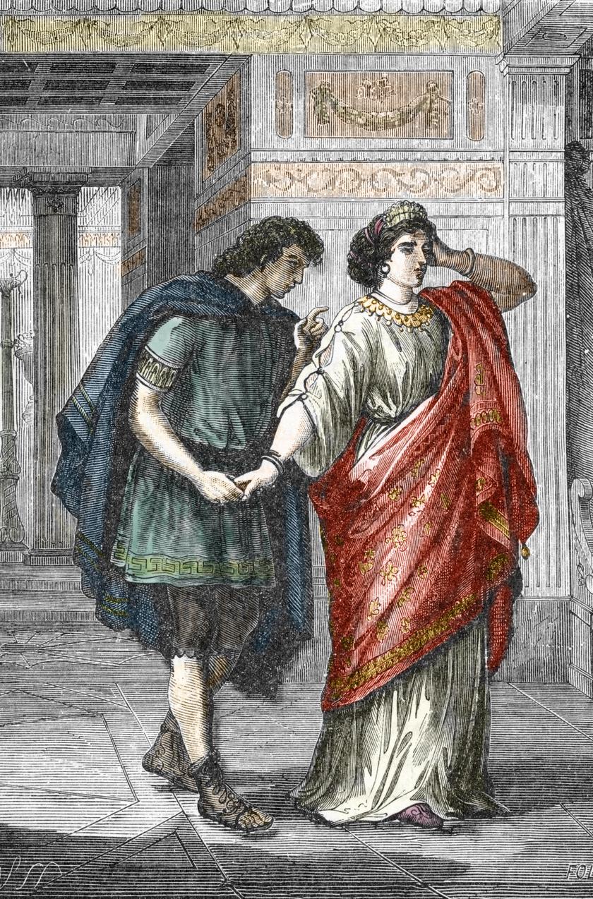 Valeria Messalina és Gaius Silius