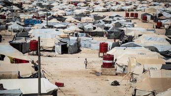 370 gyerek halt meg tavaly egy szíriai menekülttáborban