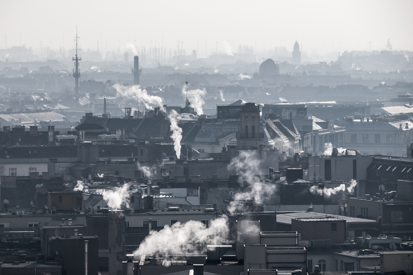 légszennyeződés télen  1