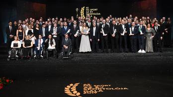 A férfiaknál és a nőknél is úszót választott az év sportolójának a Magyar Sportújságírók Szövetsége