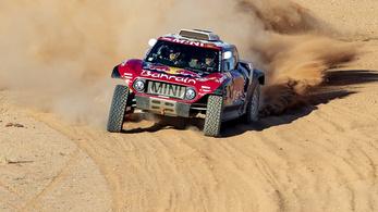 Carlos Sainz nyerte az első szaúdi Dakar-ralit