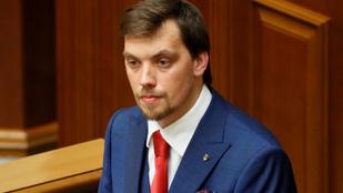 Felajánlotta lemondását Ukrajna miniszterelnöke