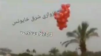 Robbanóanyagos lufikkal támadt a Hamász