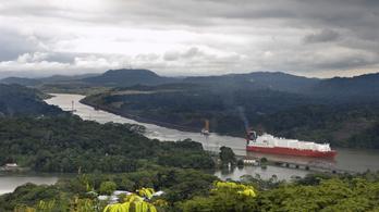 Kifogyhat a vízből a Panama-csatorna