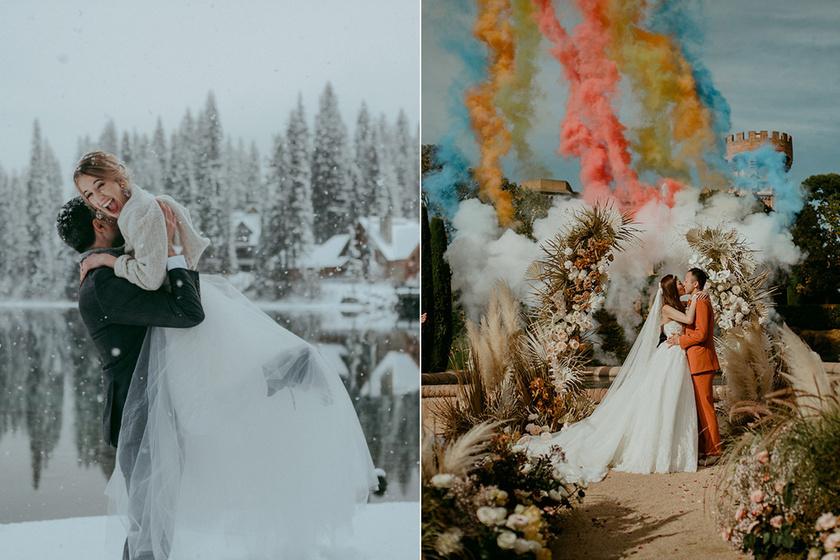 Megvannak 2019 legszebb esküvői fotói: a világ minden tájáról érkeztek képek