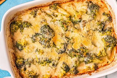 Szaftos, krémes, sajtos brokkoli: könnyű ebéd vagy köret sült húsok mellé