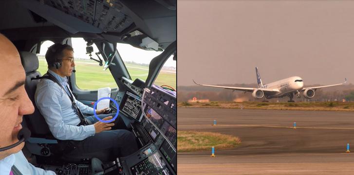 Airbus automatikus felszállás