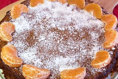 Villámgyors mandarintorta, amit gluténérzékenyek is ehetnek: napokig puha marad