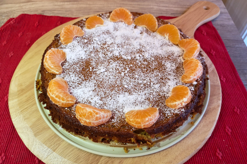 mandarintorta recept