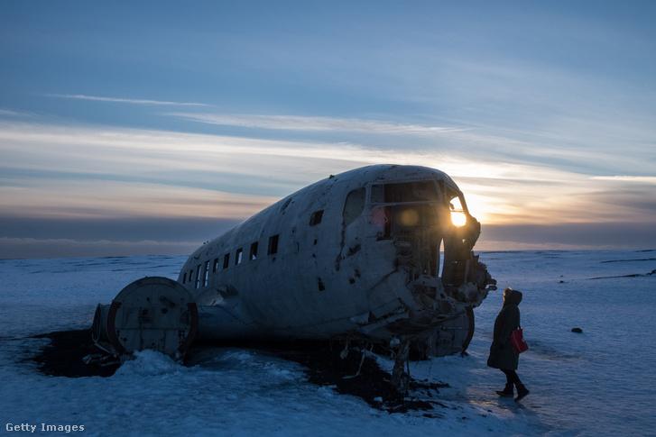 1973. március 27-én lezuhant amerikai repülőgép Izlandon 2017-ben