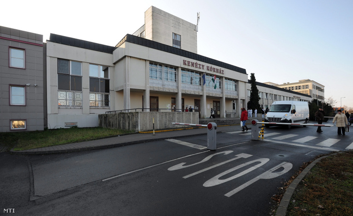 A Kenézy Kórház főépülete