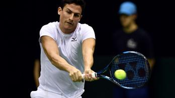 Másodszor nyert tenisztornát Balázs Attila