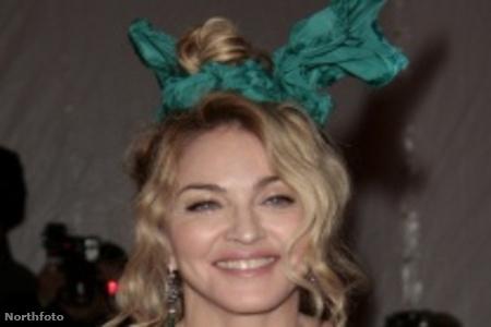 Madonna a Metropolitan gálán