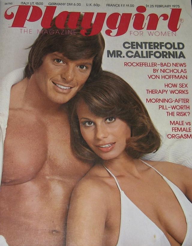 Playgirl - 1975. februári címlap