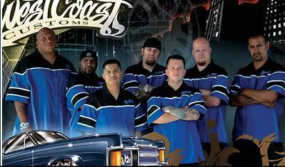 A West Coast Customs csapat