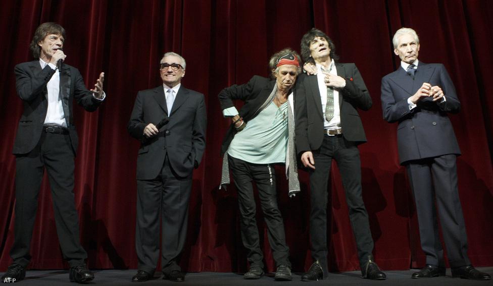 A Martin Scorsese által rendezett Shine The Light  film 2008-ban került a mozikba. A hozzá való zenei anyagot a Stones 2006-os, New York-i, Beacon Theatre-beli koncertjén vették fel. A zenekarról az 50. évforduló alkalmából is készül dokumentumfilm, és ehhez még a csapat is elkezdett próbálni újra.