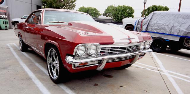 Impala, biodízel V8-as motorral. Simán lenyom egy Lambót