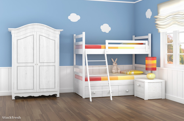 stockfresh 755718 blue-childrens-bedroom sizeM