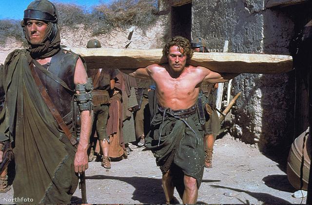 Willem Dafoe mint Jézus a Krisztus utolsó megkísértése c. filmben