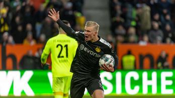 Álomkezdés, csereként is mesterhármassal nyitott Haaland a Dortmundban