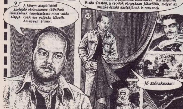 Gáspár András az Ezüst félhold blues 1994-95-ben megjelent képregényváltozatában