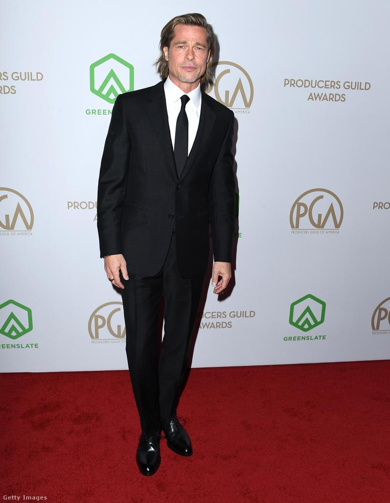 Ne feledkezzünk meg a férfiakról sem, Brad Pitten nem fog az idő, vagy ha mégis, az csak a javára válik