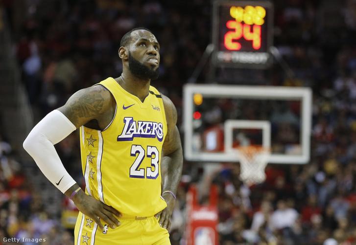 LeBron James a Houston Rockets elleni meccsen