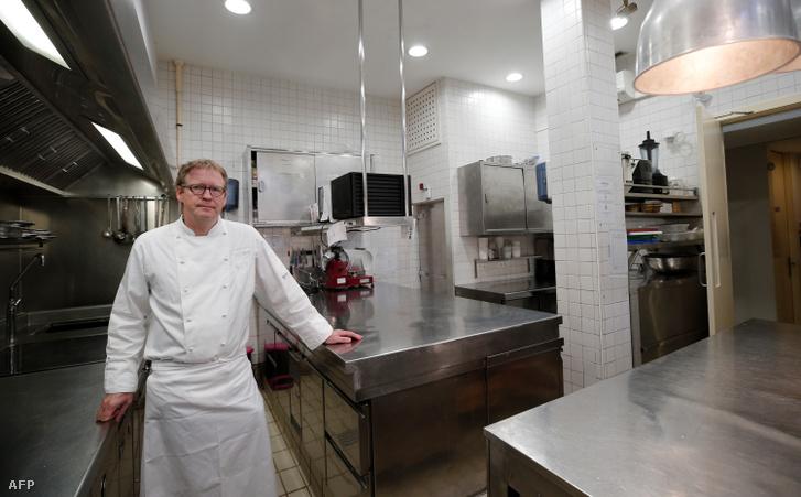 Bernd Knöller a Riff étteremben
