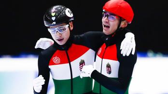Amerikai testvérpárral megy az Eb-re a magyar rövidpályás gyorskorcsolya válogatott