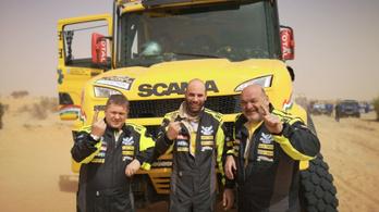 Magyar kamionosok nyerték az Africa Race terepralit